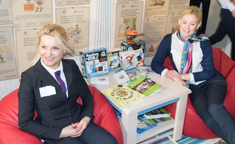 Tanya Daniel Lujanskaya and Irina Plis from AEER Moldova